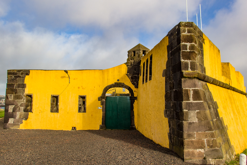 16th Century fort on Terceira