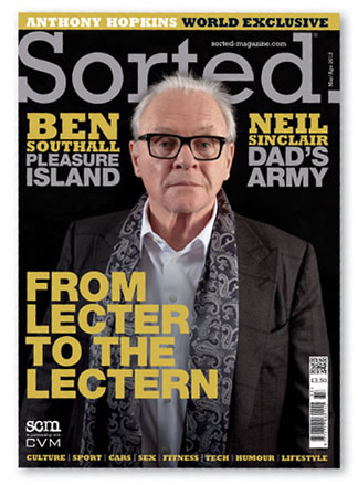 The March-April edition of  Sorted Magazine is available in W.H. Smiths now